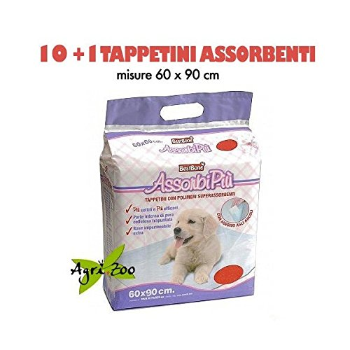 Rinaldo Franco S.p.a. 11 Tappetini Assorbenti Assorbipiù , Misura 60 x 90 Thekill cane cani pannolini