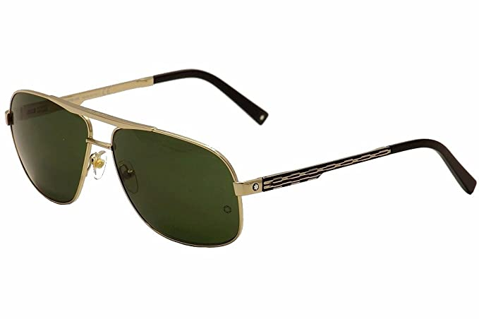 Gafas de sol Montblanc MB456S C63 28N (shiny rose gold ...