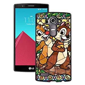 Stained Glass Chip And Dale Black Fantastic Unique Cusstomized LG G4 Case