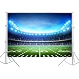 HUAYI Football Field Backdrop Newborn Photography Props Photography Background Baby Photo Studio Props 5x7ft YJ-024