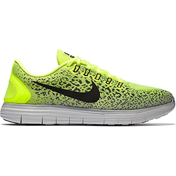 4f9d2e93bfe ... hot amazon nike free rn distance running shoes current collection 2016  neon black white eu shoe