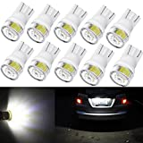 2012 camry se owners manual - Alla Lighting 10pcs 2W High Power Super Bright 194 168 2825 175 W5W LED Bulbs -- 6000K Xenon White Miniature T10 SMD Wedge Lights