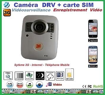 camera de surveillance avec enregistrement sur carte sd CAMERA SURVEILLANCE AVEC CARTE SIM 3G ET CARTE SD SANS FIL: Amazon
