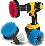 Drill Attachment Power Scrubber – Turbo Scrub Kit of 4...