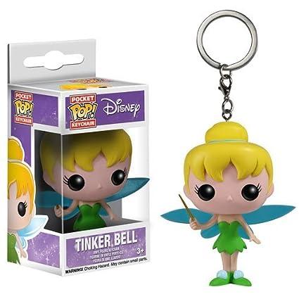 Peter Pan campanilla Pop. Figura de vinilo Llavero: Amazon ...