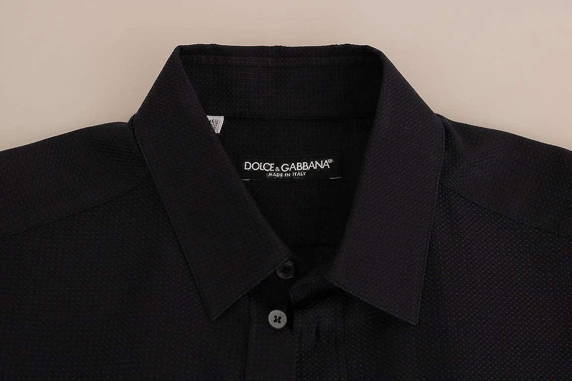 Dolce & Gabbana - Camisa de algodón, Color Azul - Azul - 50: Amazon.es: Ropa y accesorios