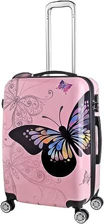 R and F Trolley Travel Bag - Pink - 24 inch -RF-006