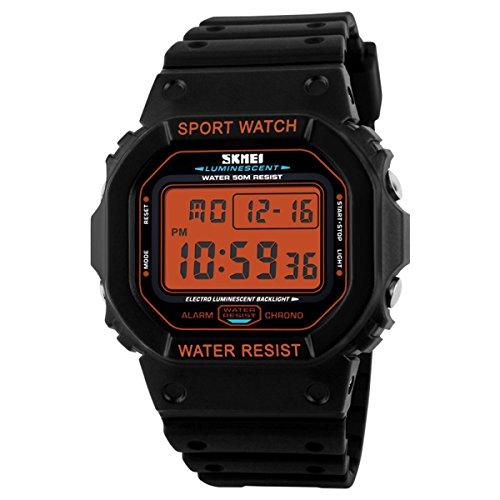 SKMEI 1134 Men Sport LED Digital Waterproof Wrist Watch - 3