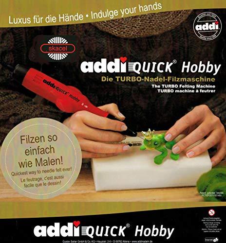 addi Quick Hobby Turbo Needle Felting Machine 850-2 - Needle Felting Machine