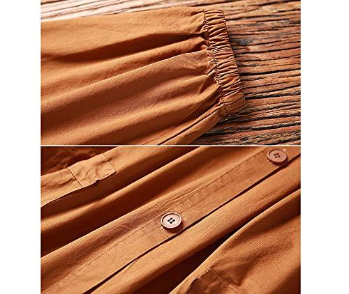 Vent Femmes Coupe Lache Longue Grande Coupe Automne Revers Solide Couleur Imzoeyff Litt Vent Mode Taille xRHwff