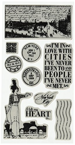 (Graphic 45 Cityscapes Cling Stamp 1)