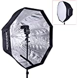 "Neewer 32""/80cm Octagonal Speedlite, Studio Flash, Speedlight Umbrella Softbox with Carrying Bag for Portrait or Product Photography"
