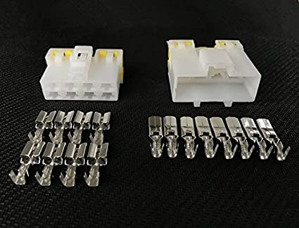 Amazon Com 5 Sets 8 Pin Way Automotive Connector Electrical