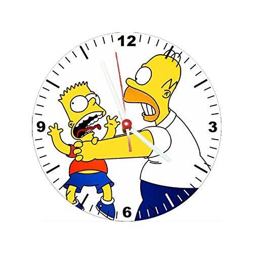 Relógio Decorativo Simpsons Estrangular