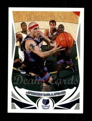 reputable site 873cd 8d889 Amazon.com: 2004 Topps # 197 Jason Williams Memphis ...