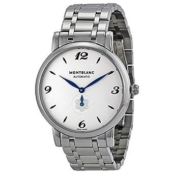 RELOJ MONTBLANC STAR CLASSIQUE 39MM ACERO AUTOMÁTICO DE 110589: Amazon.es: Relojes