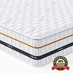related image of Twin Mattress, Coolvie 11 Inch Innerspring Mattress