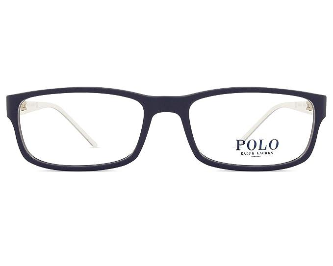 Ralph Lauren POLO 0PH2154 Monturas de gafas, Matte Navy Blue, 56 ...