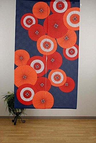 """narumi narumikk noren de cortina) """"Paraguas japonesa tradicional japonés (85 x 150"""