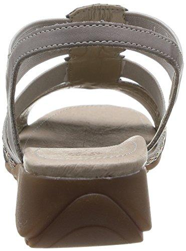 Remonte R5255 42 - Sandalias Mujer Grey (White Iron/Grau)