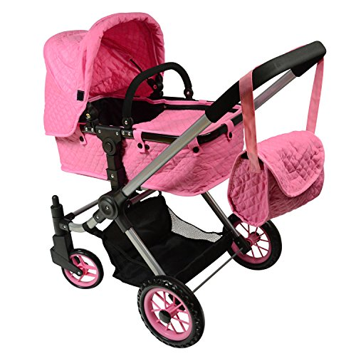 4 Wheel Pram Reversible Handle - 6