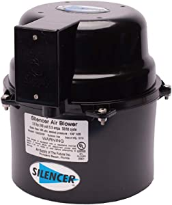 Air Supply Silencer Blower Motor 2.0HP 120V 9.0 AMPS