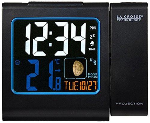 La Crosse Technology WT551-BLA - Radiodespertador, negro