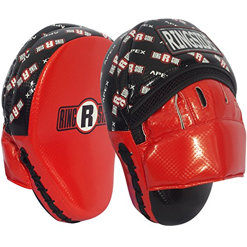 Ringside Apex Boxing MMA Muay Thai Karate Training Target Focus Punch Pad Mitt One Size