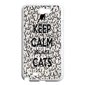 BECAUSE CATS Phone Case For Samsung Galaxy Note 2 Case FNWT-L879092