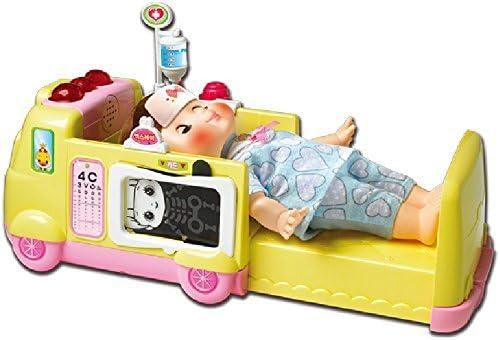 KONGSUNI Series Toy Ambulance Hospital Toy Set Doctor Playset Ambulance Turns Into A Hospital Bed Doctor playset Nurse Kit for Kids