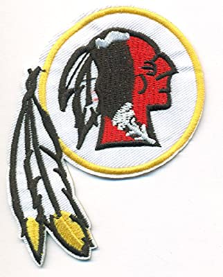 Washington Redskins Large Logo Football NFL Embroidered Iron On Patches Hat Jersey