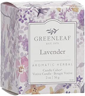 product image for GREENLEAF Scented Votive Candle - Lavender - Burns 15 Hours - Made in The USA