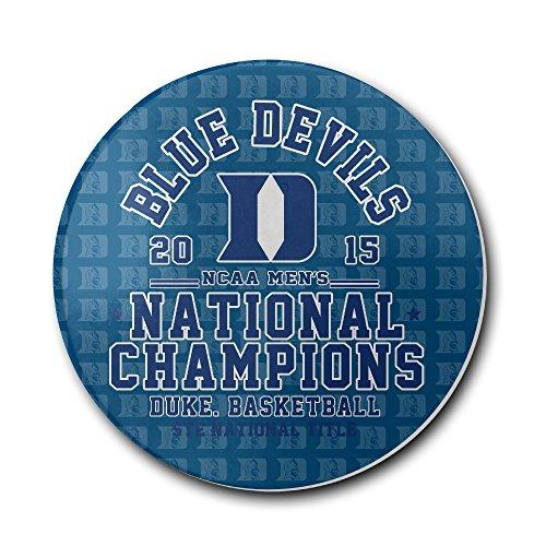 Duke Blue Devils 2015 Basketball National Champions Coasters Cork Pat Mat