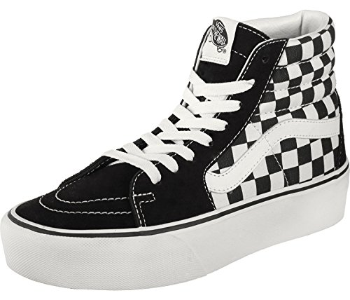Black Vans Unisex Trainers Adults' White Authentic w07xqCx4np