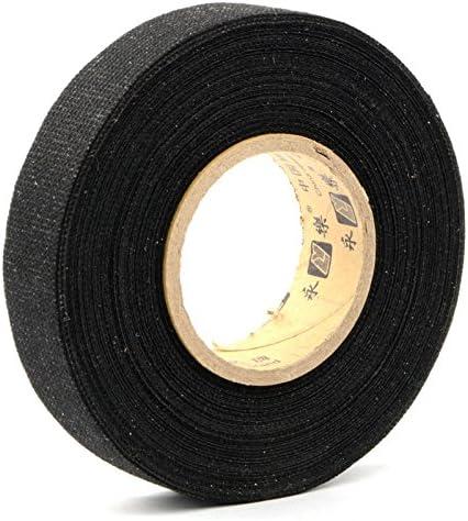 fomccu Cable de 15 m, cinta de tela Coroplast adhesivo para coche ...