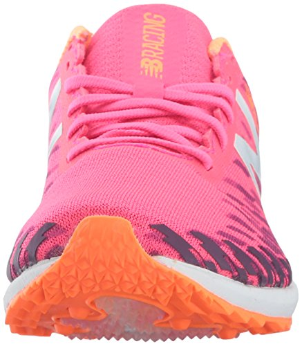New Balance Womens 700v5 Rubber Spike Track and Field Shoe Alpha Pink/Dark Mulberry sprOdIZMP