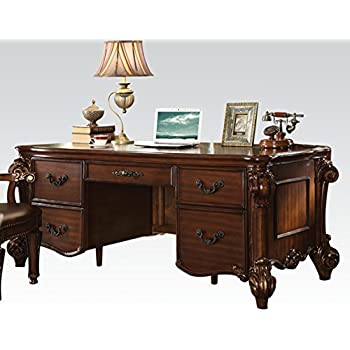 Amazon Com Acme Furniture Acme Vendome Cherry Executive