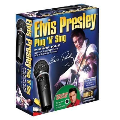 Emerson Plug 'N' Sing Karaoke System with Elvis Holiday Songs ()