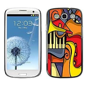 Dragon Case - FOR Samsung Galaxy S3 - The complicated world - Caja protectora de pl??stico duro de la cubierta Dise?¡Ào Slim Fit