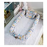 Baby Portable Travel Bed Side Sleeper for 0-24 Months Newborn Baby (Fish)