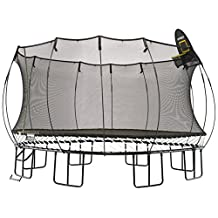Springfree Trampoline - 13ft Jumbo Square Trampoline With Basketball Hoop and Ladder …