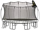 Springfree Trampoline – 13ft Jumbo Square With Basketball Hoop and Ladder Review