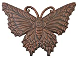 Butterfly Stepping Stone Decorative Bronze Cast Iron Yard & Garden