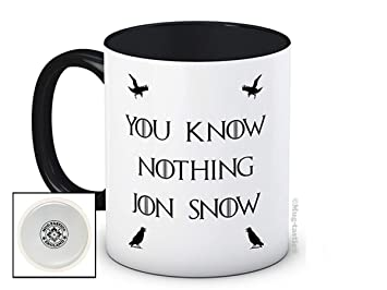 Qualité Game Nothing Snow De Jon Tasse Haute Know Of You Thrones vm6fIYgb7y