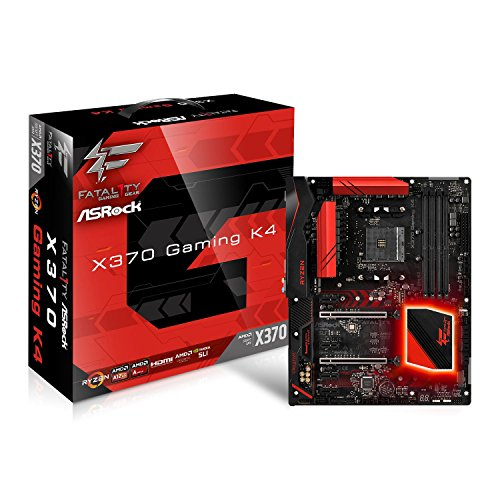 ASRock X370 GAMING K4 FATAL1TY Socket AM4/AMD X370/DDR4/A&GbE/ATX Motherboard by ASRock