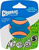 Chuckit! Ultra Squeaker Ball Orange & Blue, Small 12ct (12 x 1ct) For Sale