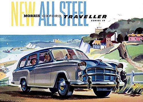 1957 Morris Oxford Traveller Series IV - Promotional Advertising Poster