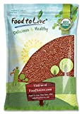 Organic Brown Flax Seeds, 5 Pounds - Whole Flaxseeds, Non-GMO, Kosher, Raw, Dried, Sproutable, Bulk
