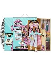 LOL Surprise OMG Modedocka Sunshine Gurl – med 20 överraskningar, designkläder och fashionabla tillbehör – lekset – serie 4.5 – Samlardocka för pojkar och flickor från 4 år