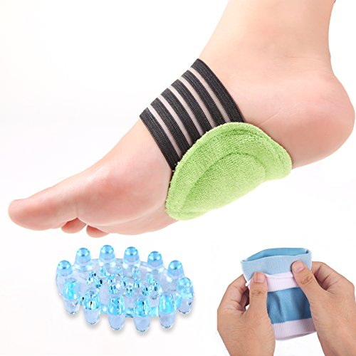 Bitly Plantar Fasciitis, Arch, Heel & Ankle Support Kit, Foot Massager Plantar Fasciitis Sock